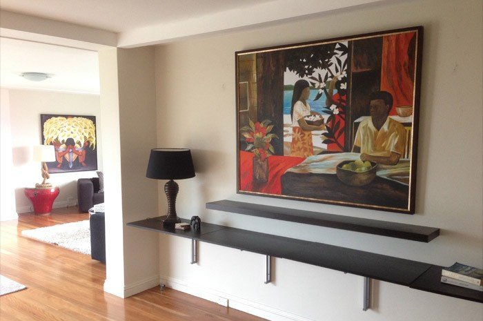 Fine art and mirror hanging services in Sydney